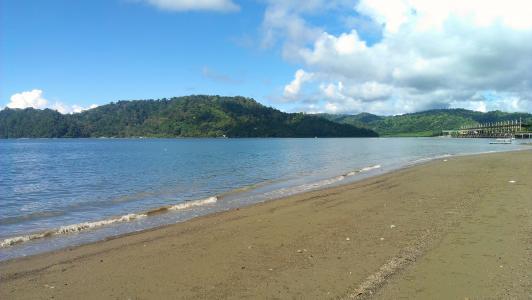 波多黎各希门尼斯航线, golfito, 哥斯达黎加, 海洋, 海, 海滩, 海景