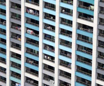 建筑, 单位, 模式, 阳台