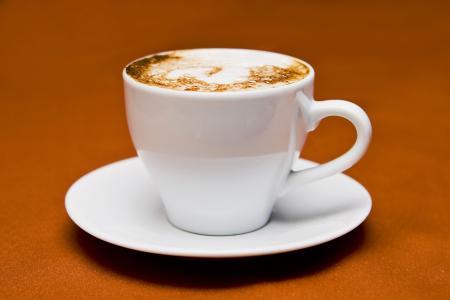 卡布奇诺咖啡, 杯, 喝咖啡, 饮料, 杯咖啡, 咖啡杯, 杯子