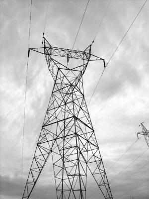 电气, 塔, 电源, 工业, 天气, 风暴, 塔