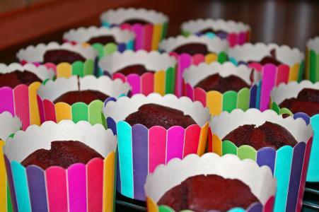松饼, schokomuffins, 治疗, 甜, 糕点, 小蛋糕, 糖果