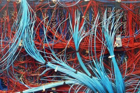 计算机, 电缆, 技术, 数据, 数字, 电子