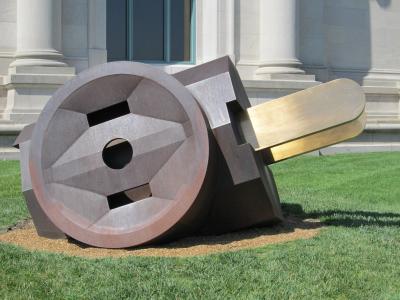 雕塑, 电动插头, 图稿, 艺术, 艺术家, 草坪, 公共