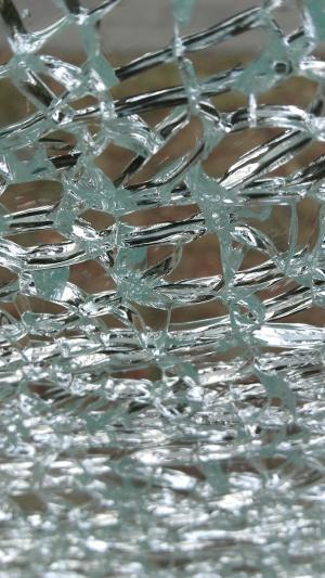 玻璃, 窗格, 破解, 裂纹, 玻璃窗格