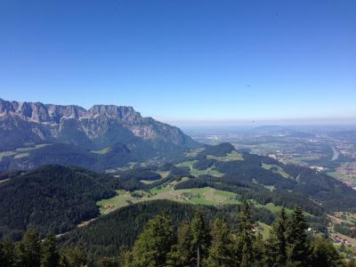 奥地利, 山, 自然, 景观