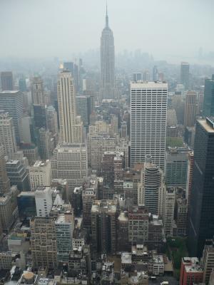 纽约, 建筑, 摩天大楼, 城市景观, 城市场景, 城市天际线, 城市