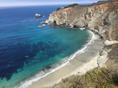 加利福尼亚州, 海岸, 海洋, 太平洋, 旅行, 客场之旅, 海岸线