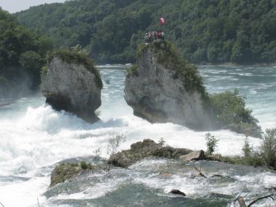 莱茵河, 莱茵河瀑布, 沙夫豪森, 水, 河, 急流