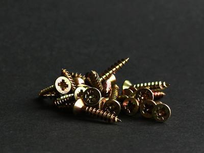 螺杆, 十字螺钉, 木螺钉, 铁, 线程, 金属