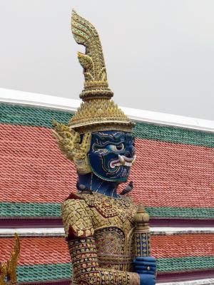 曼谷, 宫, 皇家, 卫报 》, 雕像, 神性