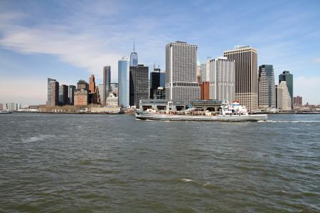 曼哈顿, 纽约, 城市, 城市景观, 具有里程碑意义, 市中心, 纽约天际线