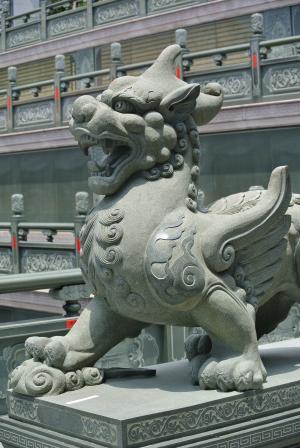 动物, 轩武, 寺, 龙