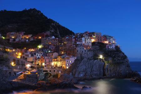 五渔村, 小镇, 意大利, 村庄, 著名, 旅游, 旅行