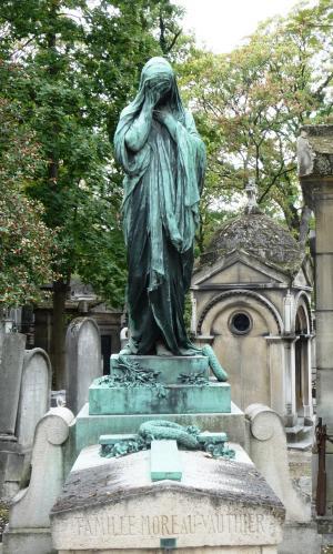 神父, 巴黎, 纪念碑, 公墓, 哀悼