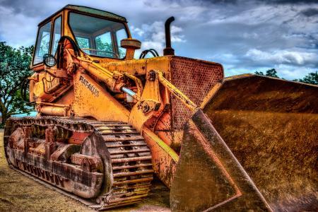 挖掘机, 毛毛虫, 机器, 车辆, 网站, 施工机械, 商用车