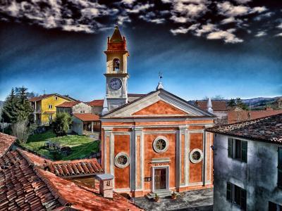 ceva, 意大利, 教会, 建筑, hdr, 房屋, 建筑