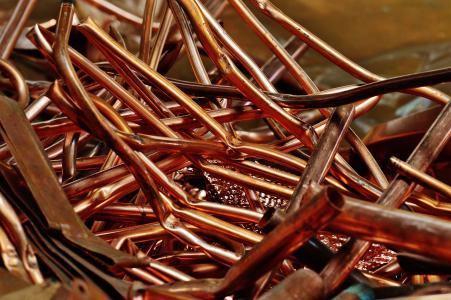 铜, 废金属, 废钢, 处置, 回收, 重用, 集合点