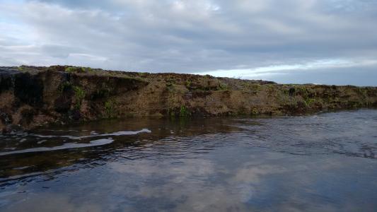 测流堰, 力拓, 大坝, 干, 野外