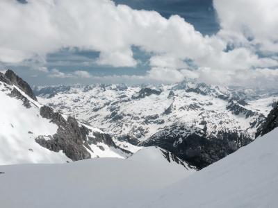 照片, 山脉, 云计算, 山, 雪, 高, 雪山