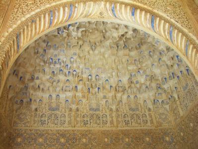 阿罕布拉, 格兰纳达, 阿拉伯语, 建筑, 结构, 橡皮布, 跳马