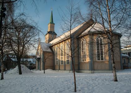 挪威, 特罗姆瑟, 拉普兰, 大教堂