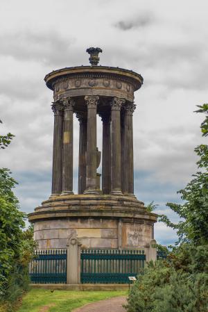 dugald 斯图尔特纪念碑, 爱丁堡, 小山, 纪念碑, dugald, 苏格兰, 斯图尔特