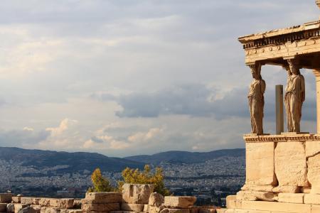 雅典卫城, 希腊, 古代, 雅典, 希腊语, 欧洲, 具有里程碑意义