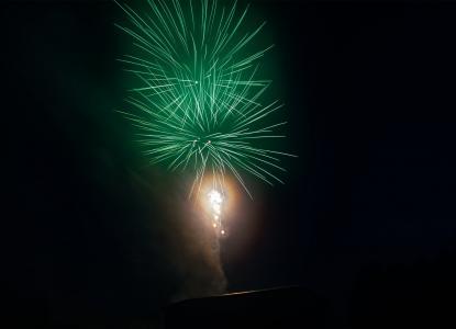 烟花, 晚上, 烟火, 淋浴间的火花, 多彩, 烟花火箭, 光效果