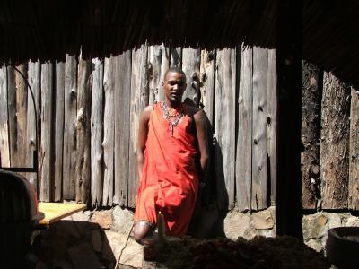 马赛, 战士, 非洲, 肯尼亚, 文化, 部落, 黑色