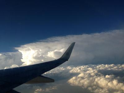 飞机, 史诗云形, 瓜达拉哈拉, 墨西哥, 2014