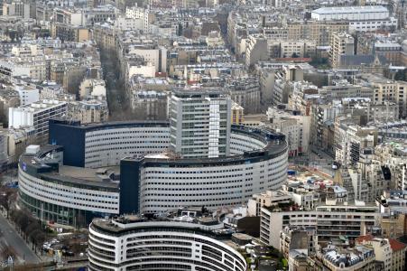 巴黎, 法国, 建筑, 全景, 城市景观, 城市场景, 城市天际线
