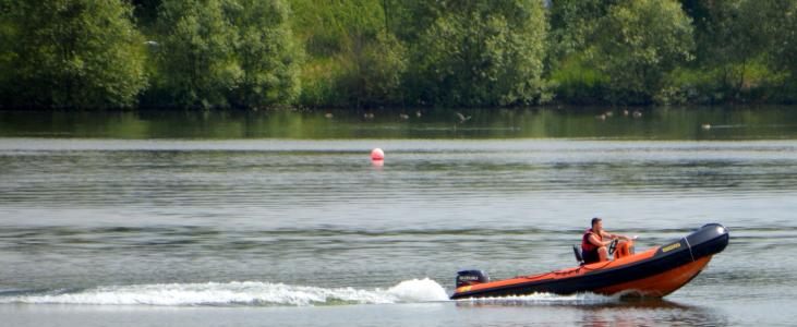 pugney 的, 快艇, 水, 湖, 电源, 速度, 行动