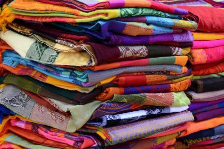 毛巾, 织物, 编织, 多彩, 颜色, 模式, 结构