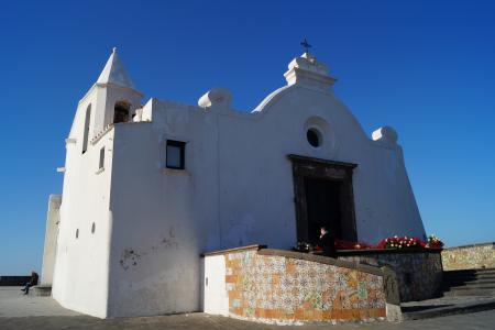 意大利, 伊斯基亚, 航海家教堂, 圣玛丽亚 soccorso