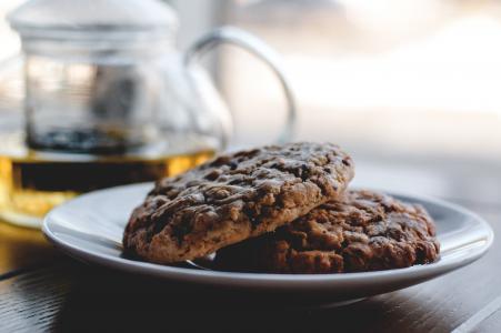 茶叶蛋糕, 茶, 扁糕, 饼干, 甜, 烤, 英语