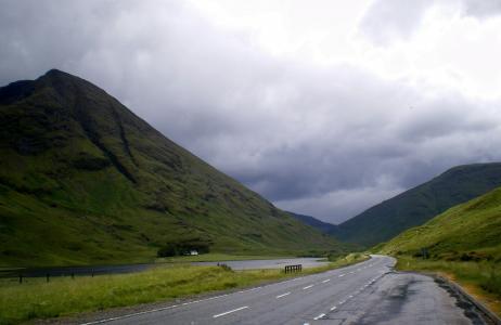 苏格兰, 高地, lochaber, 格伦, coe, 格伦 coe, 格伦科