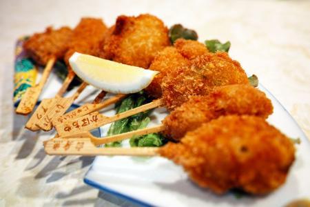 餐厅, 油炸, 食品, 肉, 亚洲菜, 日本食品