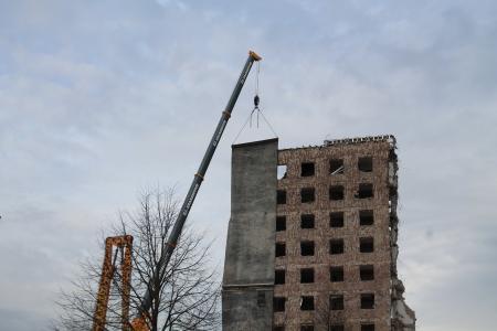 废墟, bauruine, 建设, 摧毁了, 破碎, 网站, 建筑废墟