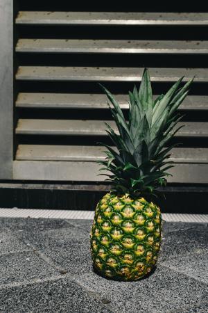 水果, 金, 菠萝, 夏季, 夏天的共鸣, 夏季, 热带