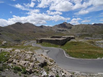 兵营 restefond, 碑, 法国, 高普罗旺斯阿尔卑斯山, 山, 景观
