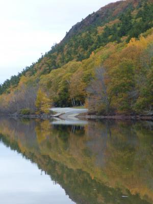 水, 自然, 景观