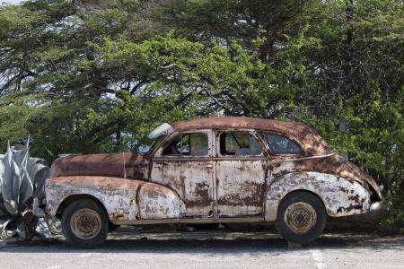 汽车, 那辆旧车, 汽车残骸, 老爷车, 老, 汽车, 经典