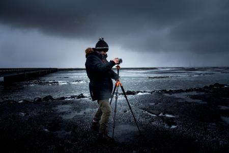 摄影师, 三脚架, 相机, 设备, 摄影, 照片, 专业