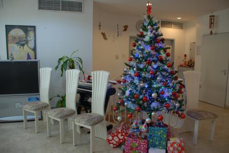 房间, 圣诞节, 装饰, 内政, 圣诞节, 圣诞树