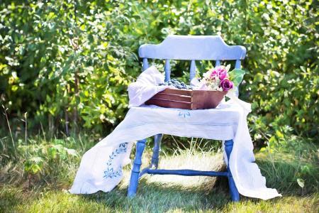 蓝莓, 夏季, 水果, 健康, 新鲜, 甜, 有机