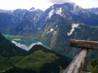 德国, 巴伐利亚, 天空, 云彩, 自然奇观, 这个, 山脉