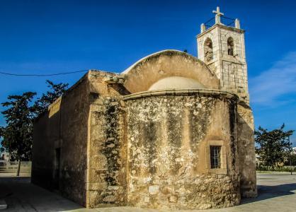 塞浦路斯, xylofagou, 乔奇, 教会, 中世纪