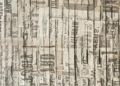 背景, 报纸, 新闻, 纸张, 墙上, 老式, 背景 old-fashioned
