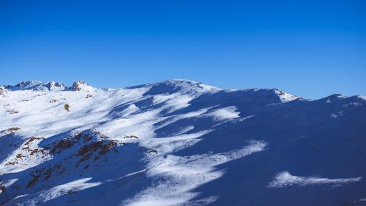 感冒, 景观, 山, 自然, 阴影, 天空, 雪