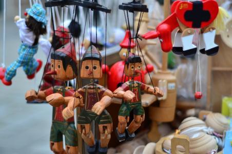 皮诺奇, 纪念品, 木娃娃, 傀儡, 意大利, 欧洲, 罗姆人